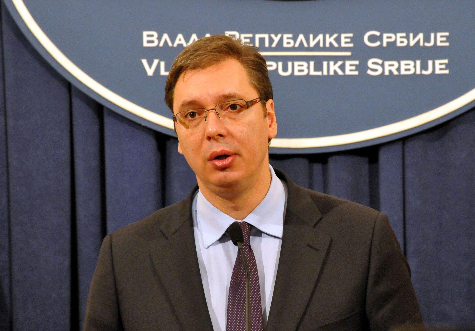 Konferencija za medije Aleksandra Vučića: neka građani vrate prevarantske račine!