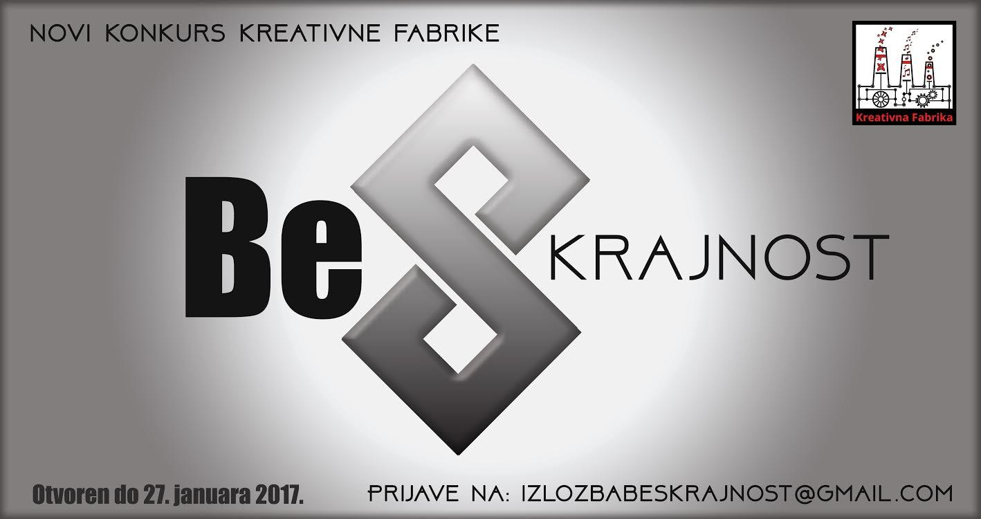 "Konkus Kreativne fabrike: ""BeSkrajnost"""
