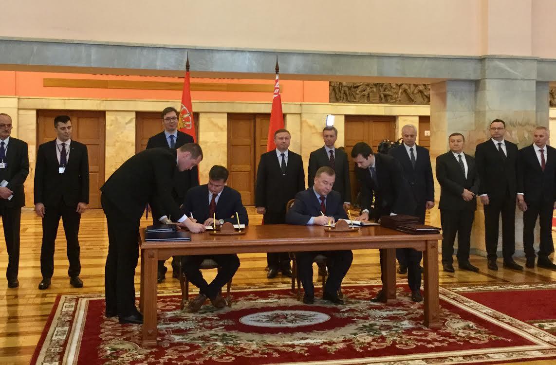Vučić sa predsednikom Vlade Belorusije Kobjakovim