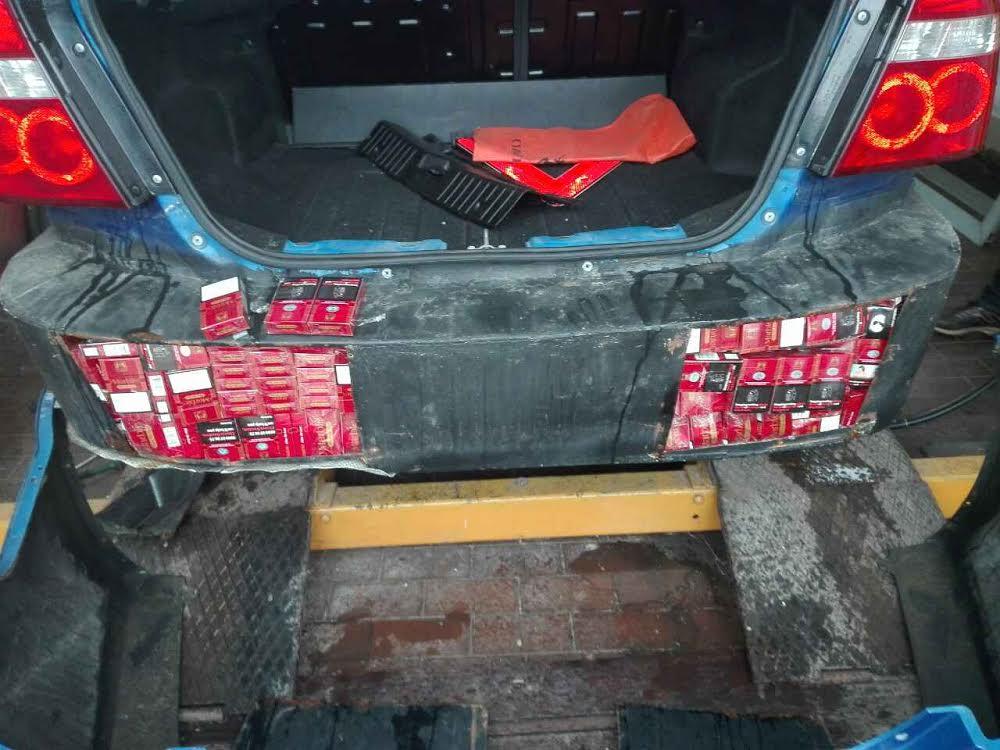Vatin: granična policija otkrila šverc 2.720  paklica cigareta