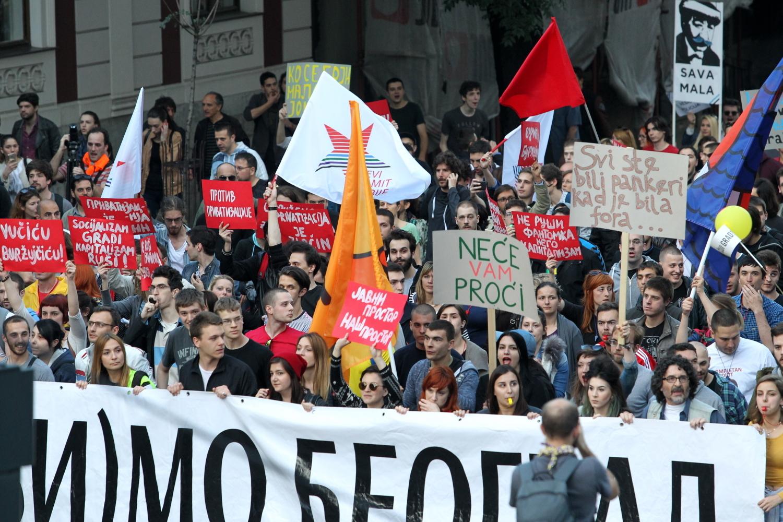 Čekajući izbore: Inicijativa Ne da(vi)mo Beograd podržava Sašu Jankovićaza predsednika!