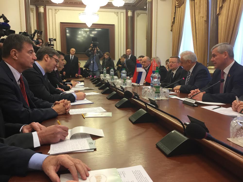 Belorusija: brojni sastanci Aleksandra Vučića