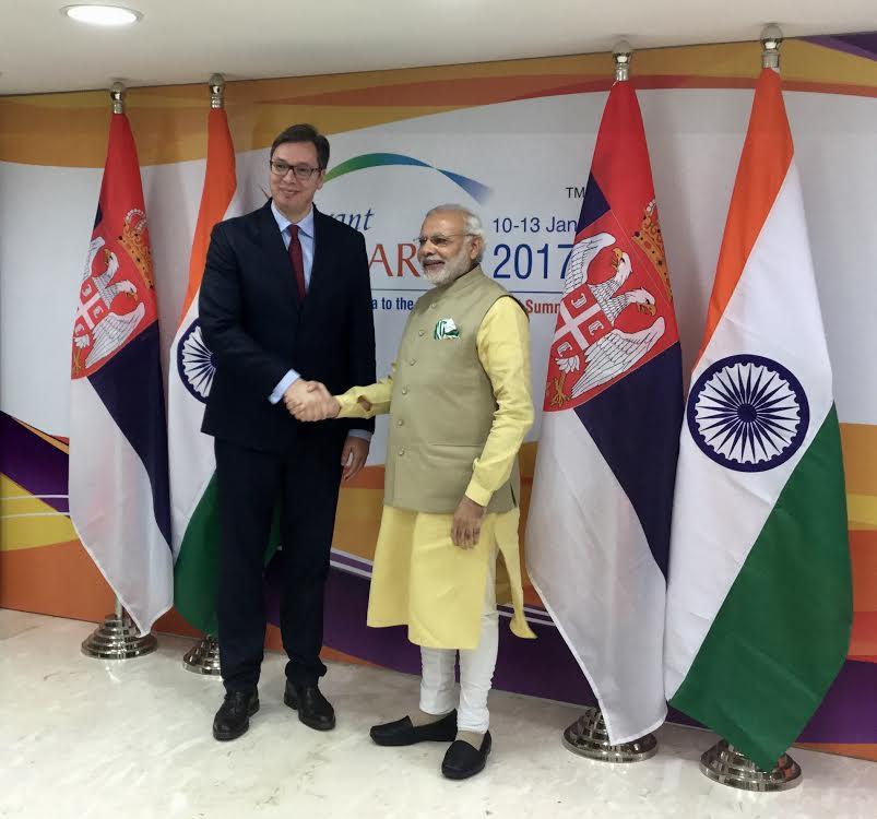 Indija: Vučić razgovarao sa premijerom Indije Modijem