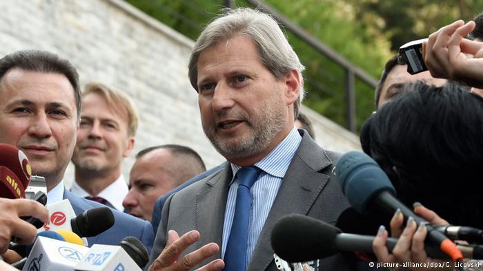 """Skopje: Johanes Han na sastanku """"Zapadno – balkanske šestorke"""""""