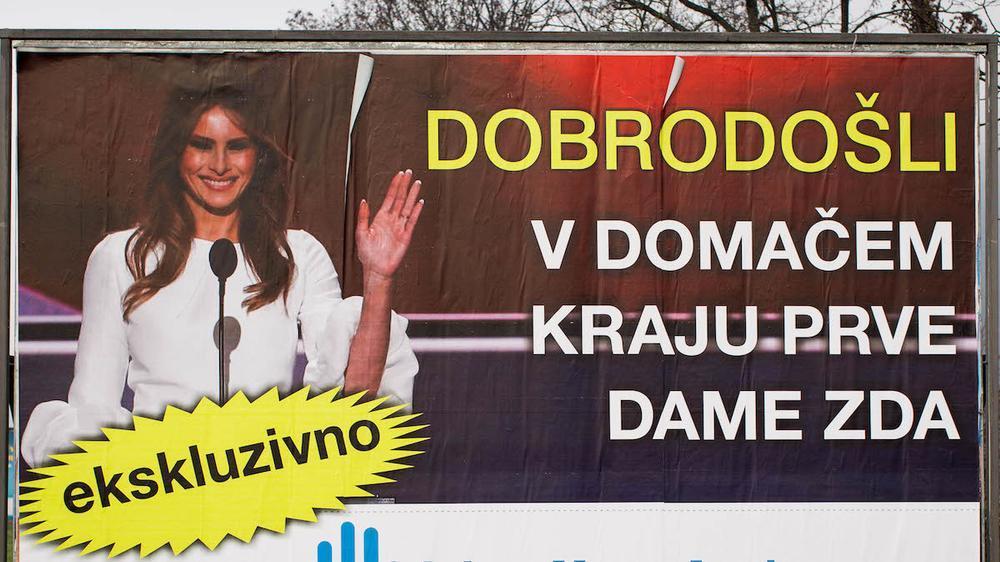 """Slovenija: agencije organizuju ture """"tragovima Melanije Tramp"""""""