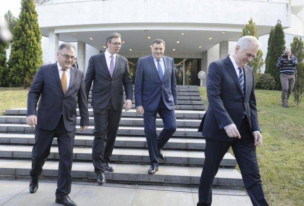 Sastanak Nikolića, Vučiča, Ivanića i Dodika: primarni cilj jeste najšire pomirenje