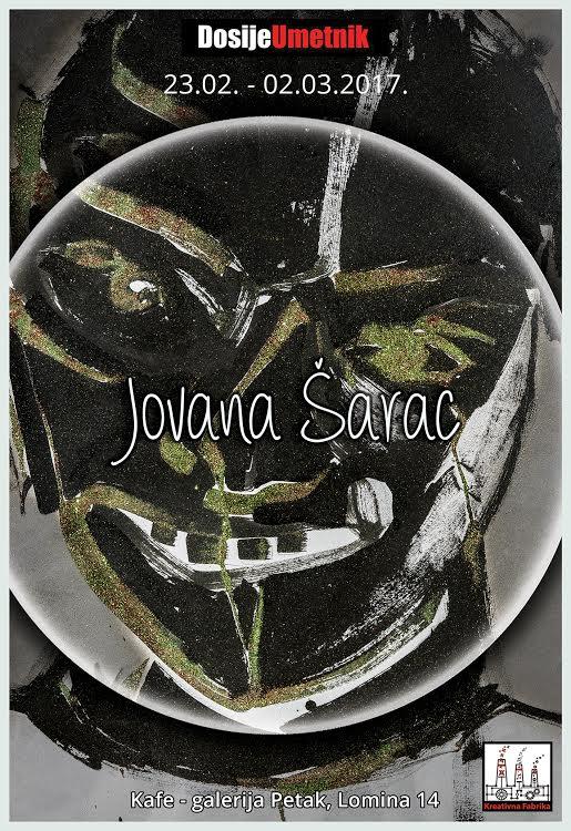 Beograd: Od sutra u galeriji Petak izlaže Jovana Šarac