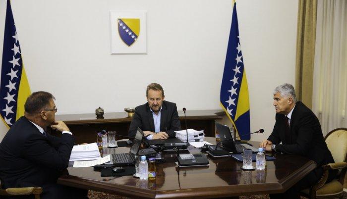 BiH: prekinuta sednica Predsedništva