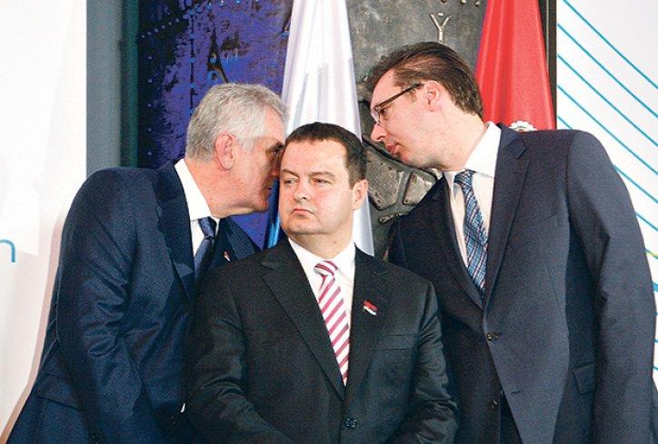 Nikolić naljutio Dačića