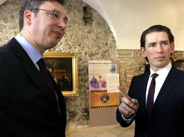 Konferencija za medije Vučića i Kurca:  o  migrantima, dobroj saradnji, ali ne i o  Savamali