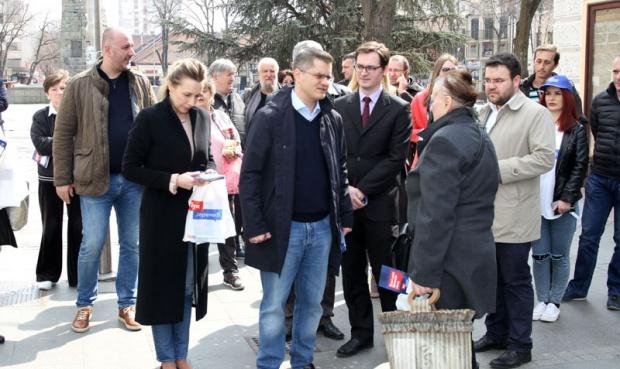Niš: Uhapšen napadač na aktivistkinju Tima Vuka Jeremića