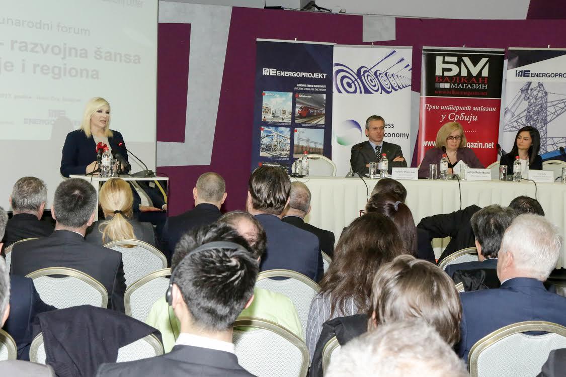 Koridori – Razvojna šansa Srbije i regiona