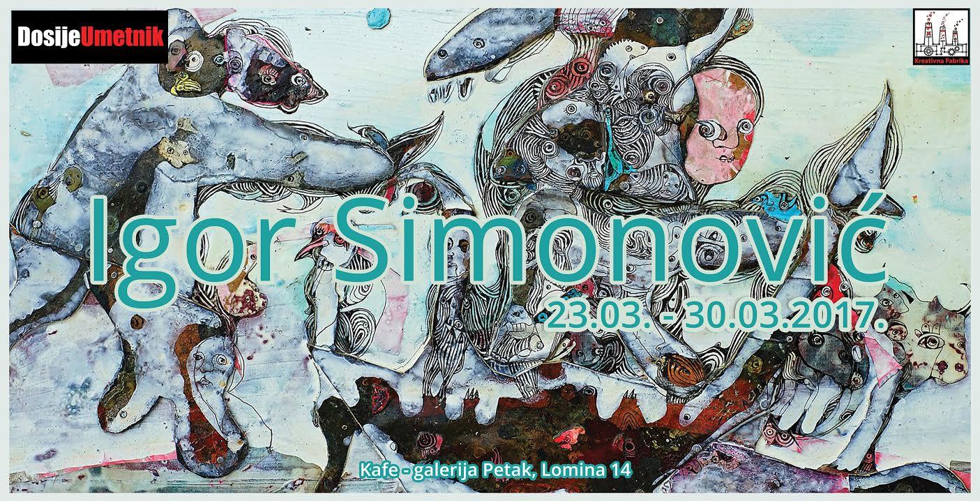 Dosije umetnik predstavlja Igora Simonovića
