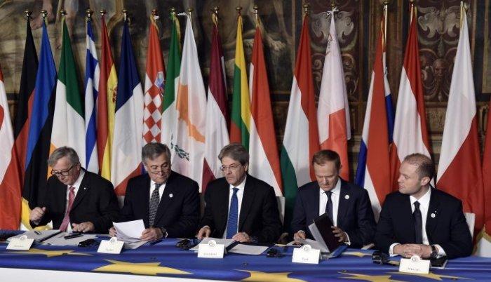 Rim: Samit povodom 60 – godišnice EU