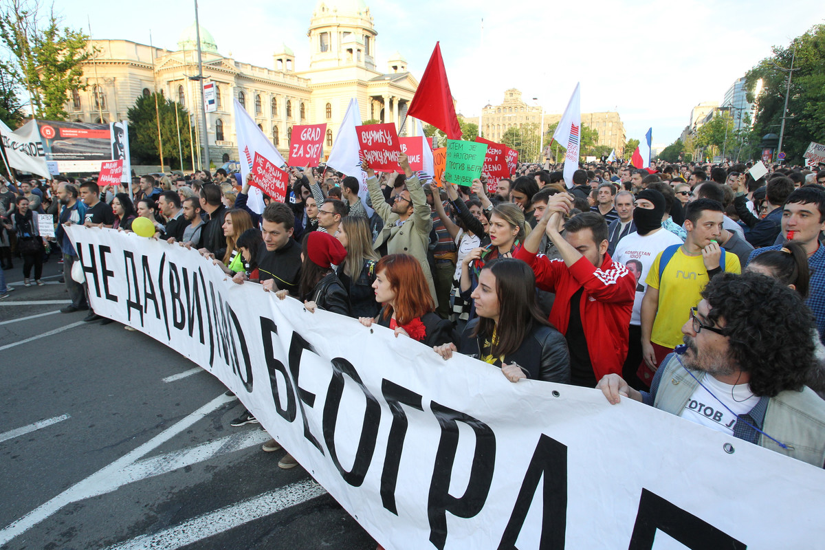 """Inicijativa Ne da(vi)mo Beograd traži poništenje Ugovora o zajedničkom ulaganju u projekat """"Beograd na vodi"""""""