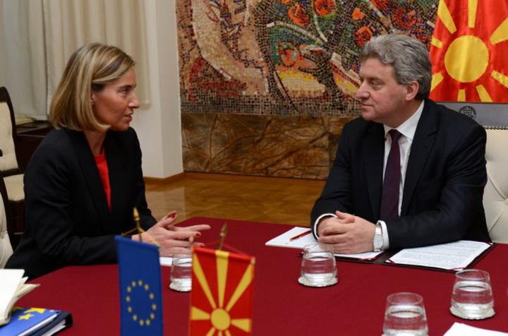 """Mogerinijeva poručila makedonskim političarima:  """"ne igrajte se vatrom!"""""""