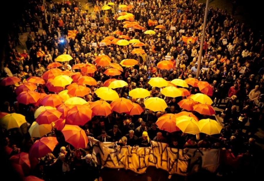 Skopje: Cela Makedonija na nogama