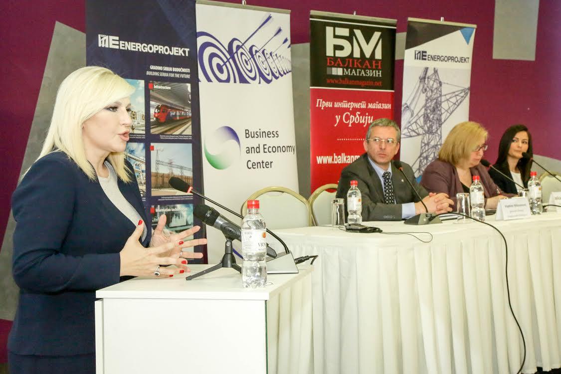 Zorana Mihajlović: Auto-putem se povezati sa Sarajevom i Prištinom