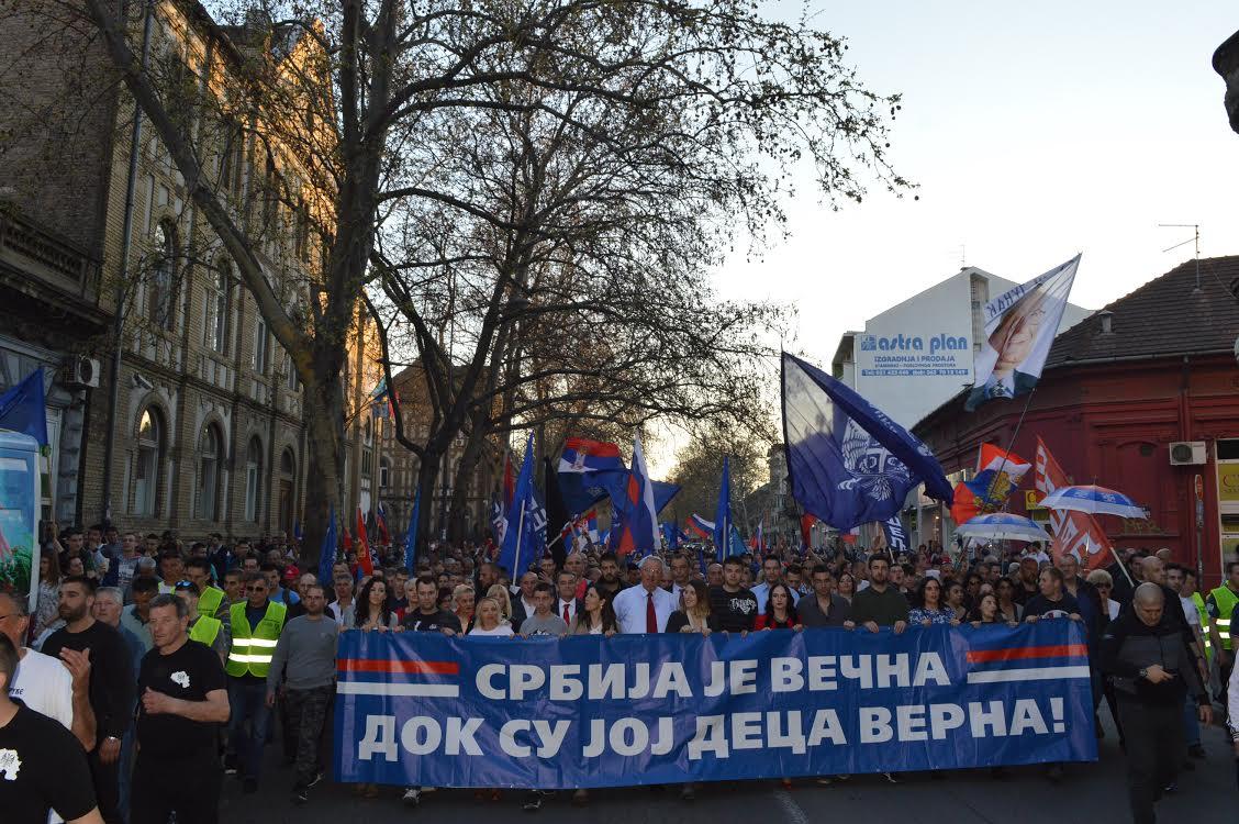 Šešelj: Ovo je bitka između Aleksandra Vučića i mene!