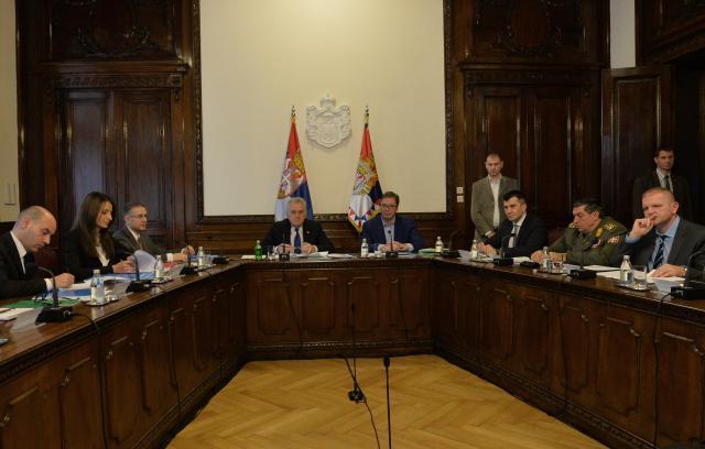 Sednica Saveta za nacionalnu bezbednost: zabrinjavajuće inicijative za prekidom dijaloga između Beograda i Prištine