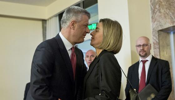 Federika Mogerini na Kosovu