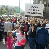 """Novi protest stanara beogradskog naselja """"Stepa Stepanovič"""""""