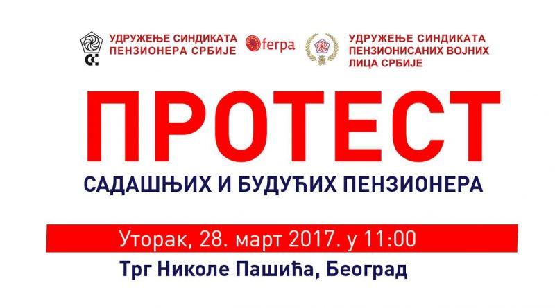 Sutra na Trgu Nikole Pašića proterst penizionera!