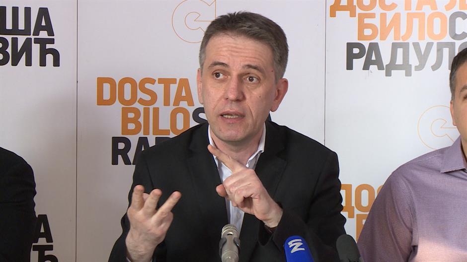 Izbori 2017: Radulović kritikovao Mogerinijevu zbog učešća u jeftinoj Vučićevoj predstavi