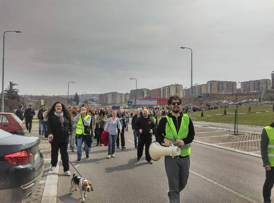 Protest stanara naselja Stepa Stepanović