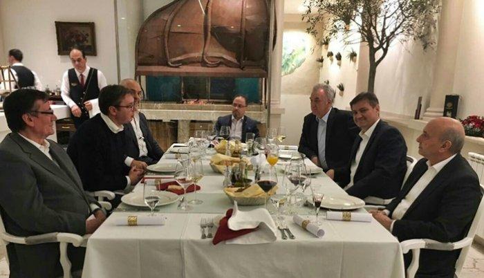 Premijeri Srbije, Albanije i Kosova sa Zvizdićem u sarajevskom restoranu