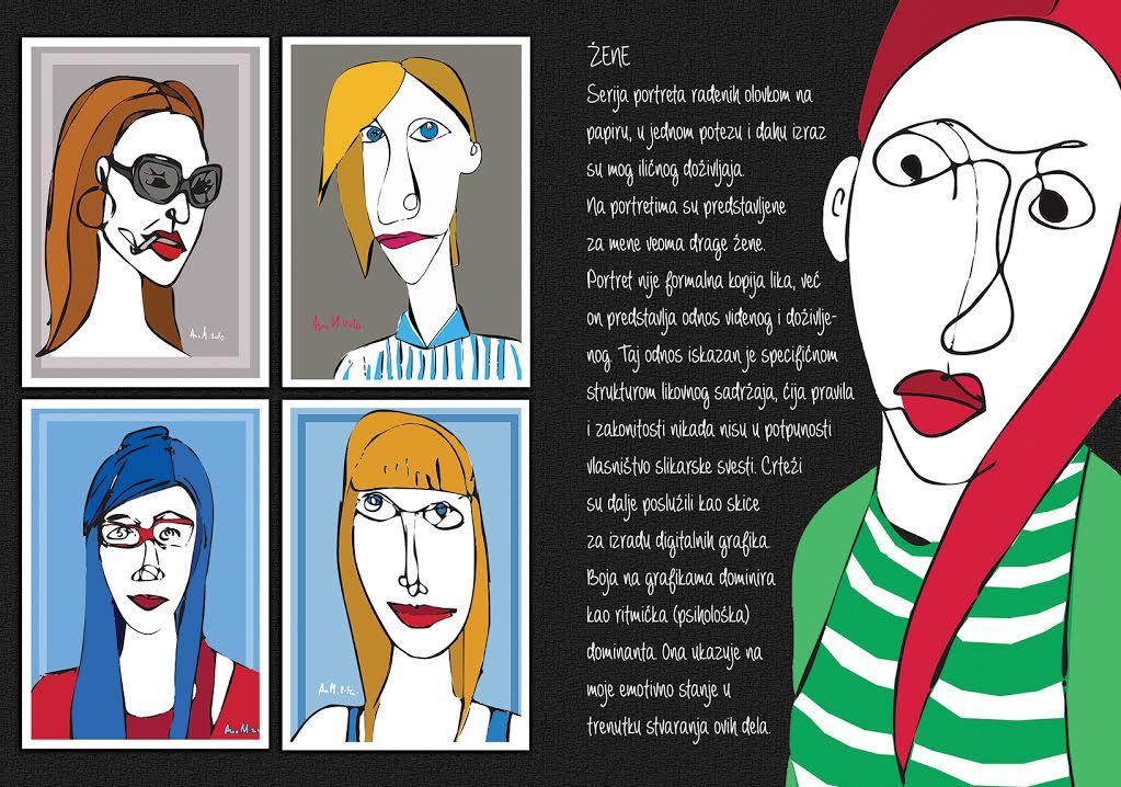Galerija Petak: digitalne grafike Ane Marinović i fotografije  Svetislava  Bankerovića