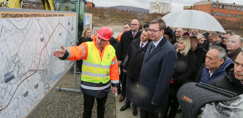 Počela je izgradnja  autoputa Surčin – Obrenovac