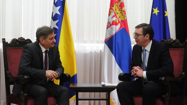 Vučić 16. marta  u BiH