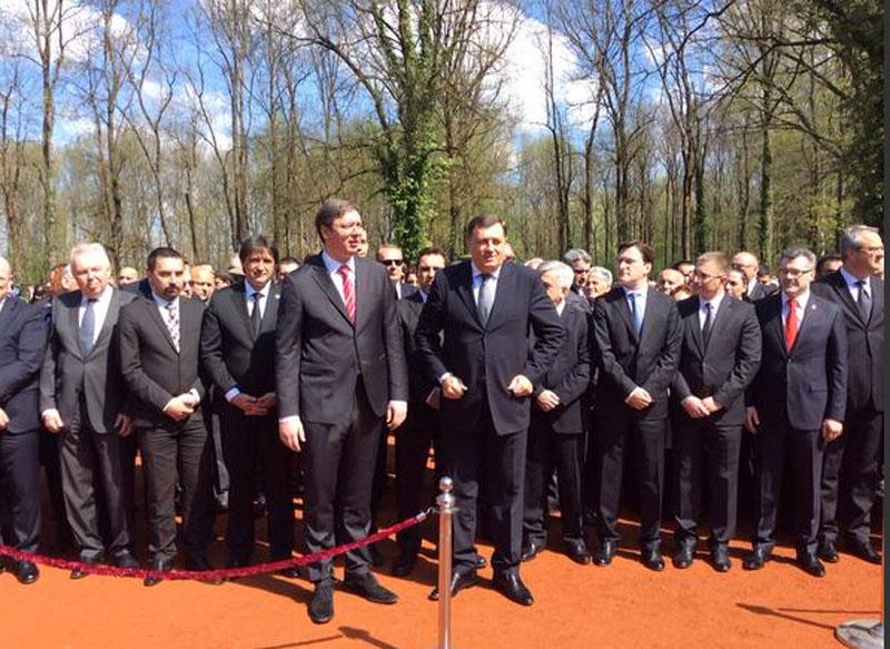 Vučić i Dodik u Donjoj Gradini 23. aprila!