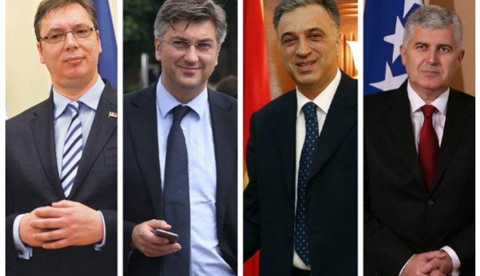 Vučić, Čović, Plenković i Vujanović sastaju se u Mostru!