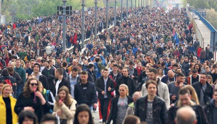 Devet zahteva učesnika protesta u Srbiji