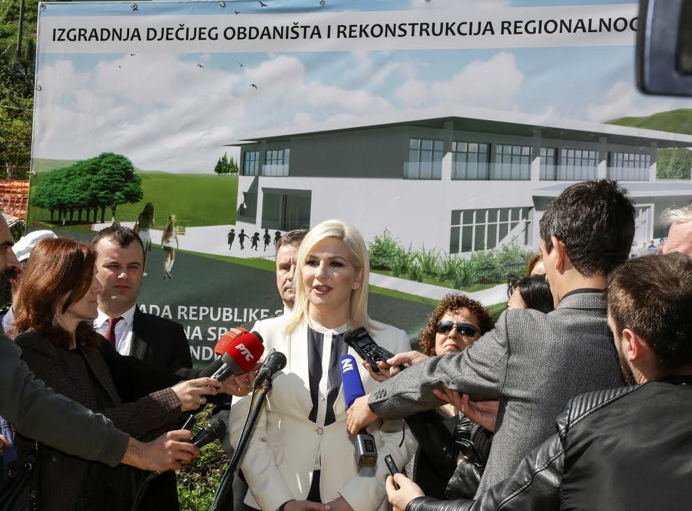 Mihajlovićeva: Gradimo zajedno za budućnost Srebrenice