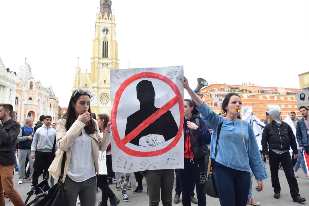 Saopštenje Tima Protiv Diktature: protest na dan inauguracije Aleksandra Vučića