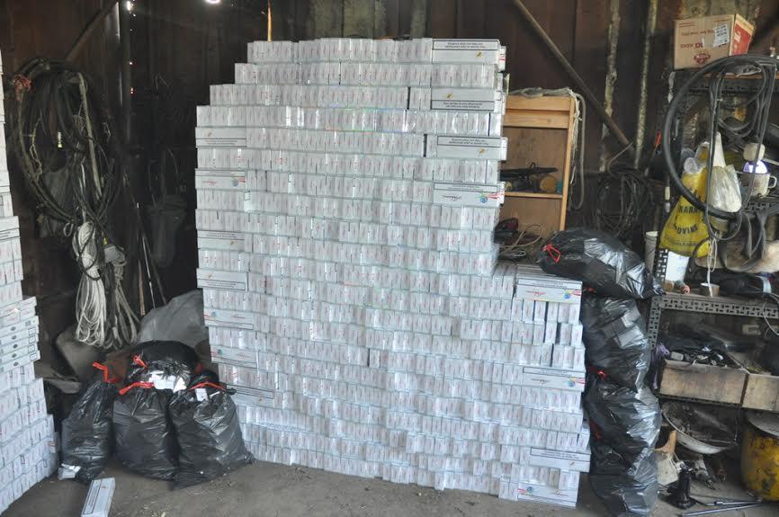 Zrenjanin: zaplenjeno 28.560 paklica cigareta