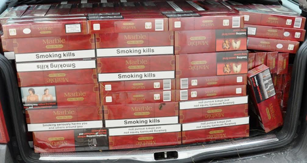 Kraljevo: zaplenjeno 18.980 paklica cigareta!