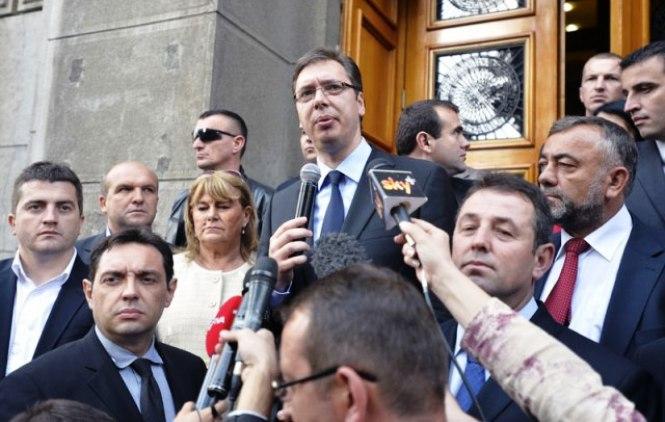 Vučić primio predstavnike «Srpske liste»