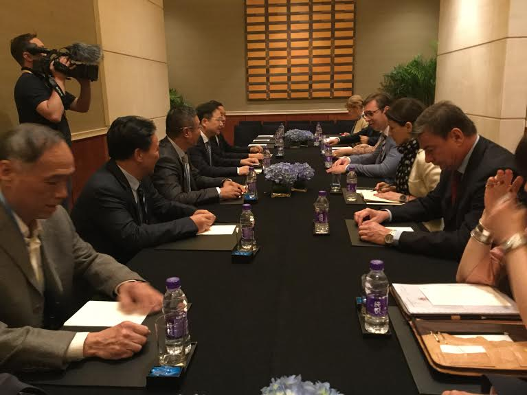 Kina: Vučić u kompaniji CNTC