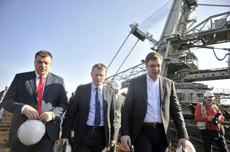 Vučić obećao u Kolubari: struja neće poskupeti!