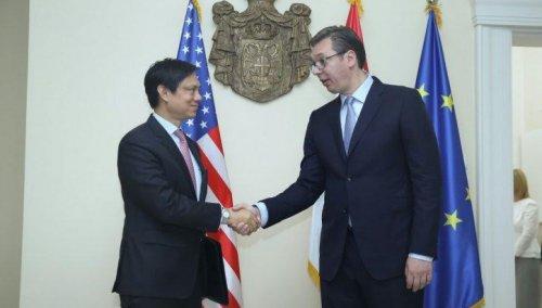 Vučić razgovarao sa američkim izaslanikom Hojto Jiom