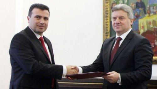 Makedonija: Ivanov dao mandat Zaevu za formiranje nove vlade
