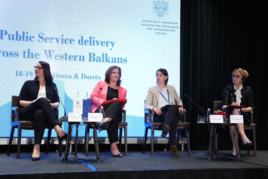 Tirana: Ana Brnbić na konferenciji o izvršavanju javnih usluga u zemljama Zapadnog Balkana