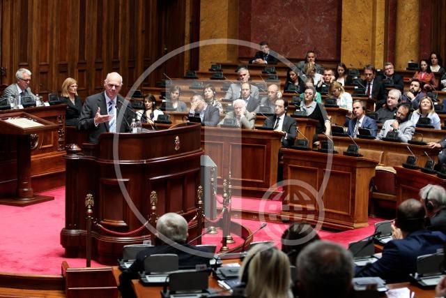 Predsednik Bundestaga Norber Lamert obratio se poslanicima Srbije