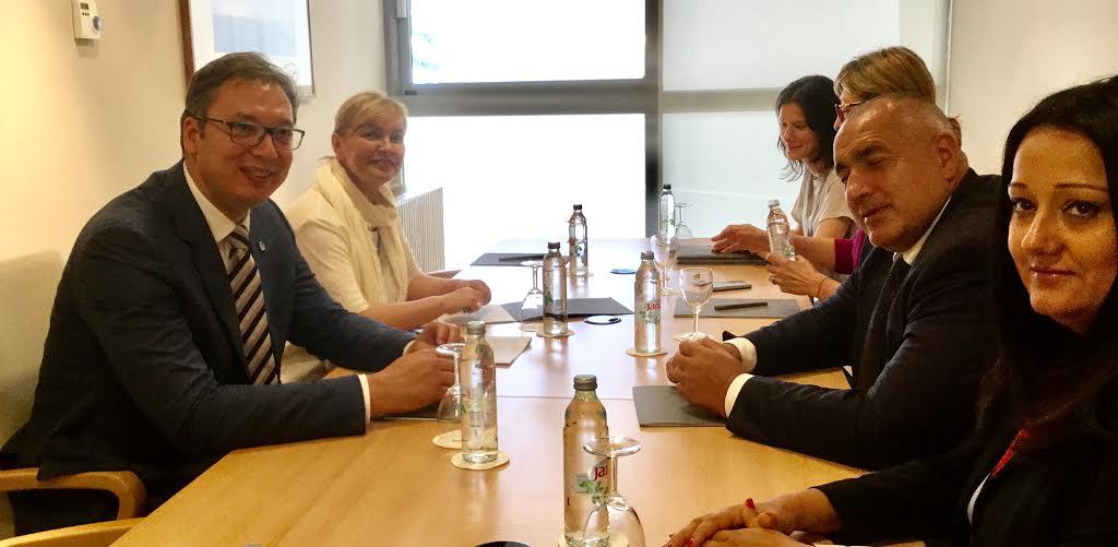 Dubrovnik: Vučić razgovarao sa Borisovim