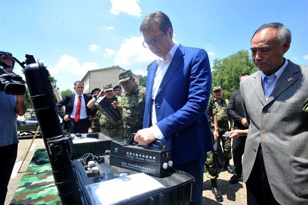 Pančevo: Kineska pomoć za Vojsku Srbije