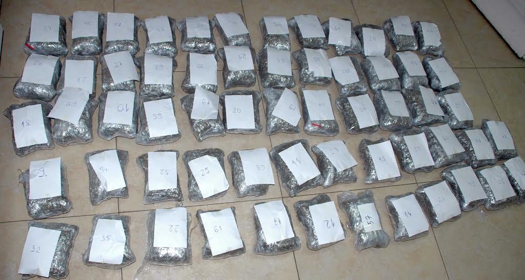 Beograd: U pasatu otkriveno 30 kilograma marihuane